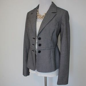 THE LIMITED Size Small Gray Suit Jacket Blazer